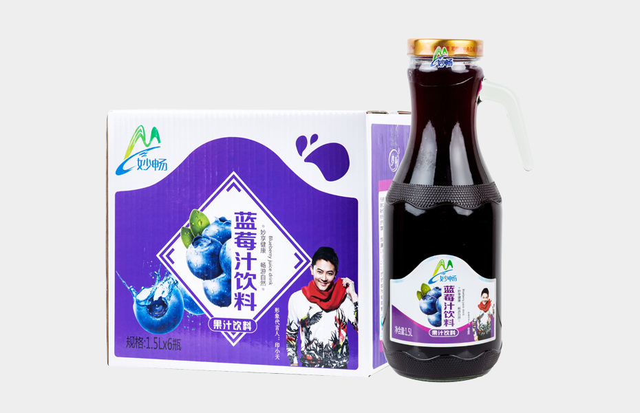 妙畅蓝莓汁饮料