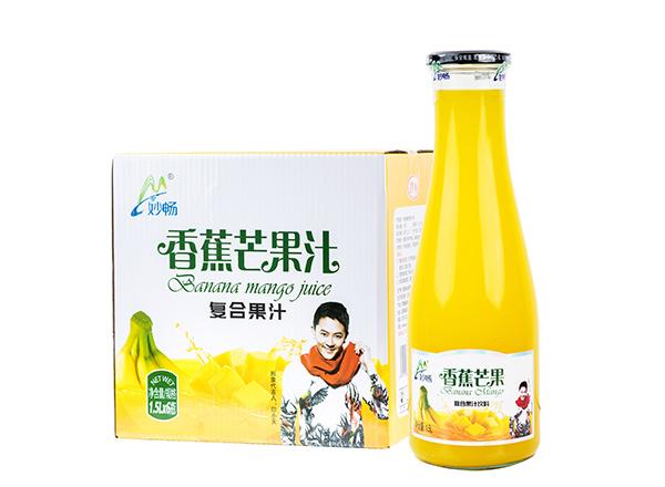 妙畅香蕉芒果汁饮料