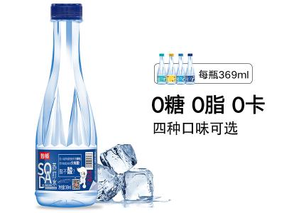 妙畅碱苏打原味苏打水(369ml)