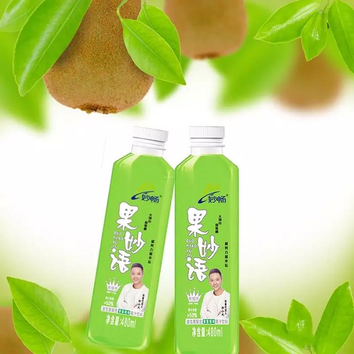 打破常规果汁饮料,妙畅果妙语益生菌复合发酵果汁,您还在等什么?