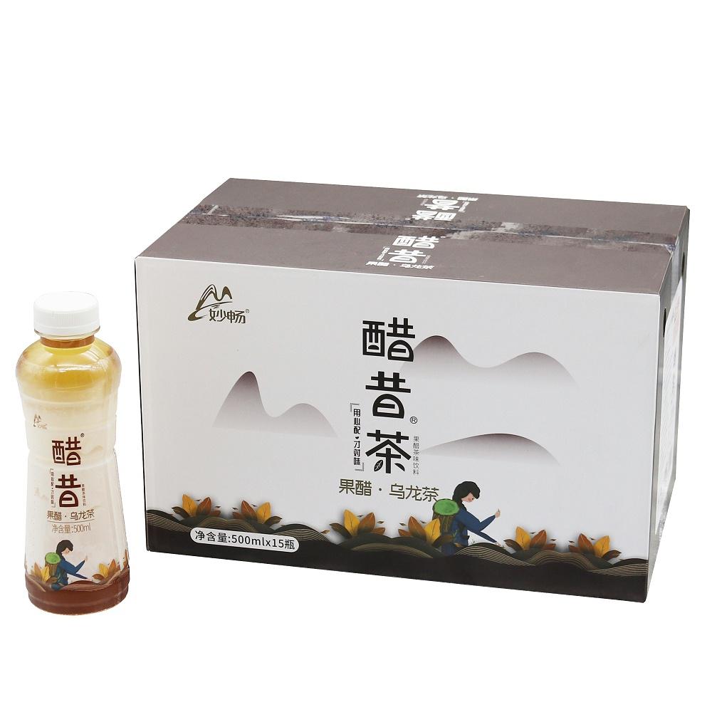 妙畅果醋乌龙茶