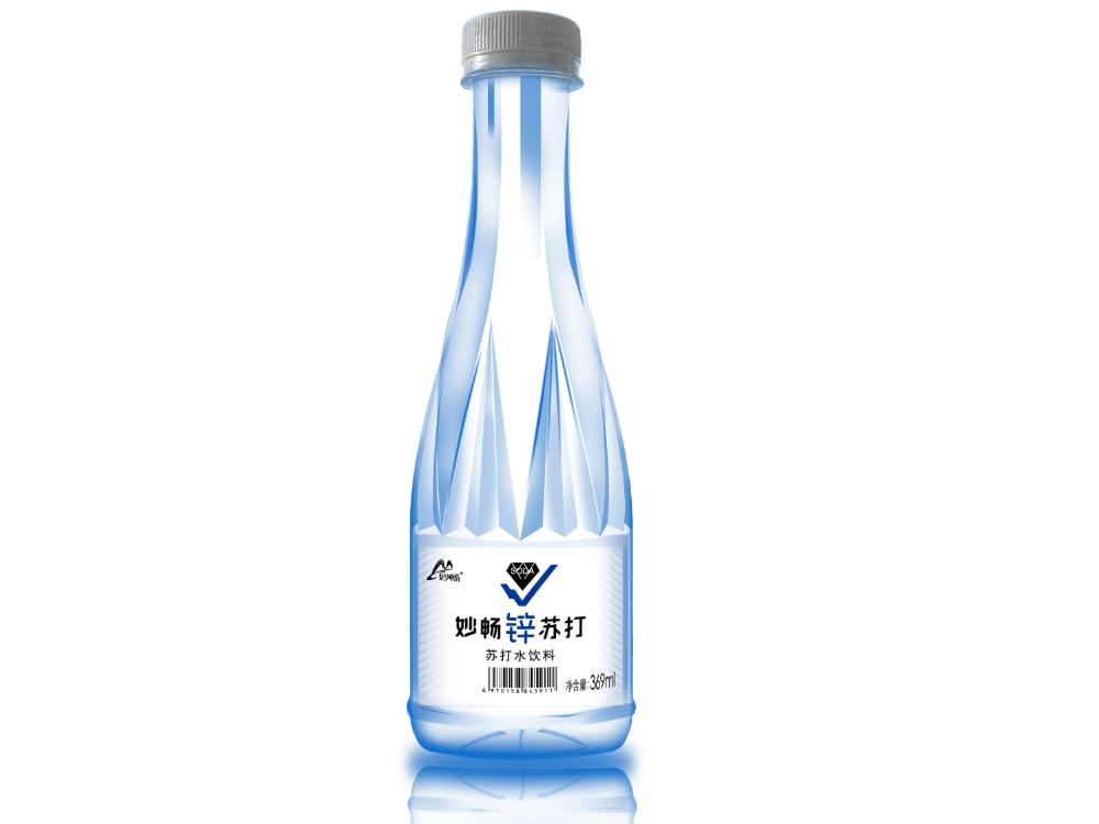 妙畅锌苏打原味苏打水(369ml)